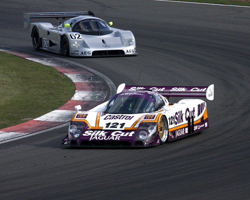 1988 Jaguar XJR9 vs 1988 Sauber