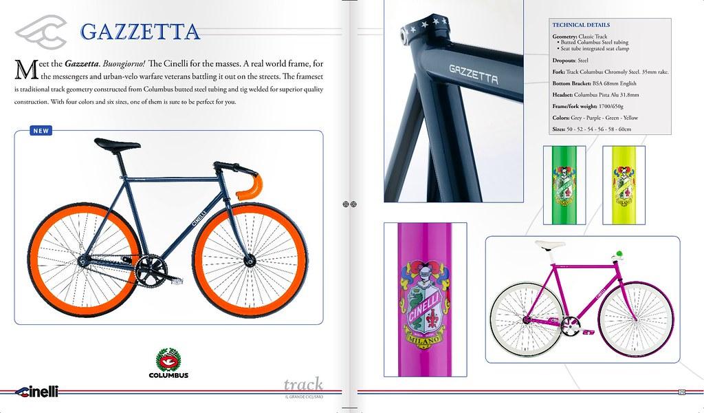Cinelli Gazzetta | Coming Early 2010!