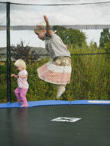 Action on the Trampoline