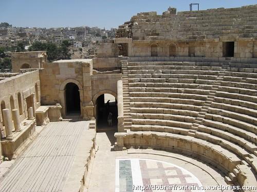 Anfiteatro Romano em Jerash, Jordânia