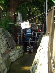 堀川の立入禁止エリア
