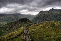 England: Cumbria - Side Pike-Facing North (Tim Blessed) Tags: uk sky mountains clouds landscapes countryside scenery cumbria lakedistrictnationalpark anawesomeshot singlerawtonemapped alemdagqualityonlyclub