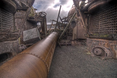 The pipe (wili_hybrid) Tags: old cold photo cool rust photos pipe picture rusty dramatic antarctica pic caldera rusting rts pipeline chill hdr tanks southernhemisphere southshetland neptunesbellows randomtravelerssociety