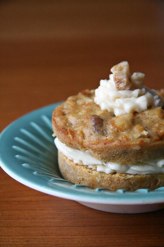 Carrot Babycake w/ Cream Cheese Icing