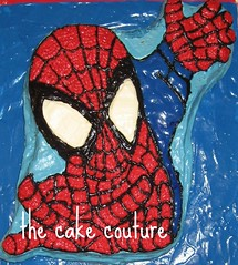 9. Spiderman Cake (The Cake Couture (is currently not taking any orde) Tags: party cake children chocolate spiderman vanilla  doha qatar                               thecakecouture