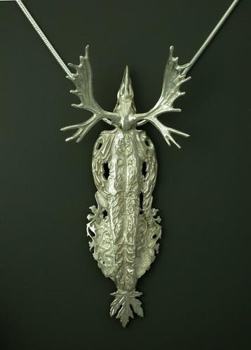 Moose Dreams necklace