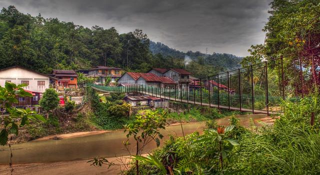 Bridge over Kuantan River