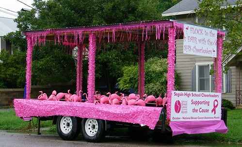 Float of Flamingos