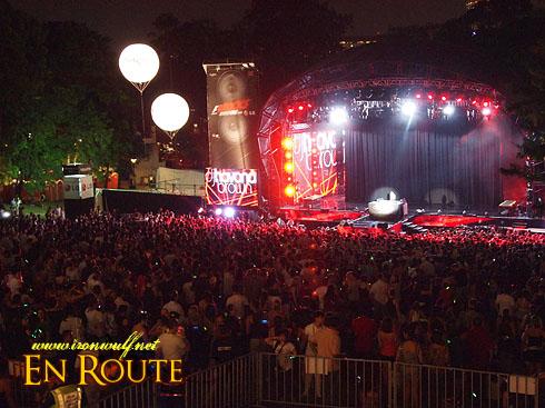 F1 Rocks @ Singapore Crowd and DJ Havana
