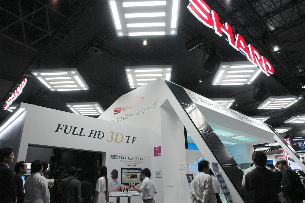 Sharp FullHD 3DTV demobooth