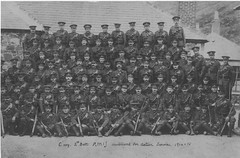 Members of the Jersey Militia Mobilised in 1914