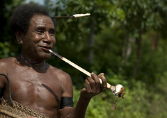 Mr Tolobuwa Trobriand chief and his cassowary bone - Papua New guinea (Eric Lafforgue) Tags: pictures portrait people face photo picture culture tribal human papou tribes png tradition tribe papuanewguinea ethnic tribo gens visage papu ethnology tribu  ethnologie papuaneuguinea lafforgue papuanuovaguinea  ethnie ericlafforgue papuan papouasienouvelleguine papuaniugini papoeanieuwguinea papusianovaguin papuanyaguinea   papanuevaguinea    paapuauusguinea  papuanovaguin papuanovguinea  papuanowagwinea papuanugini papuanyguinea  humainpersonne png3640