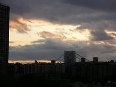 window view (violetwrites) Tags: sky georgewashingtonbridge joyleftowkittenscatrescueblackkittycatadoptions