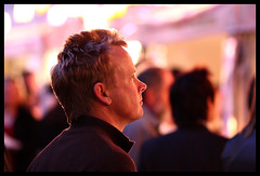 decisions, decisions (blentley) Tags: street light food festival night work canon eos random bokeh candid low markets smooth sydney 85mm international thinking noodle usm f18 candids tough ef creamy fail 40d