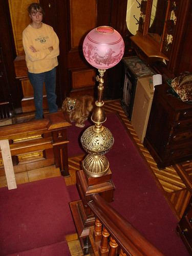 Ohw View Topic Newel Post Light Reunited With The House