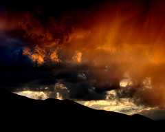 IMG_2528 (PhotoSensate) Tags: sunset sky orange colors skyscape colorado colorful dusk ominous flickrfavs