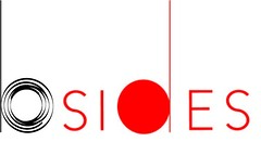 b-sides logo_bigger size: b-sides is written in black and red, lowercase