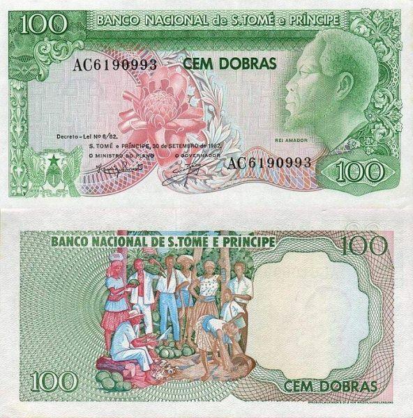 100 Dobras Svätý Tomáš a Princov ostrov 1982