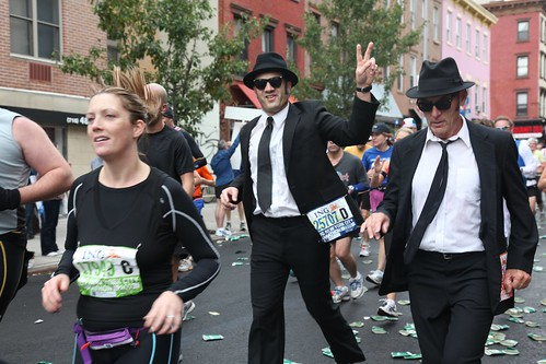 New York City Marathon 2009 Blues Brothers