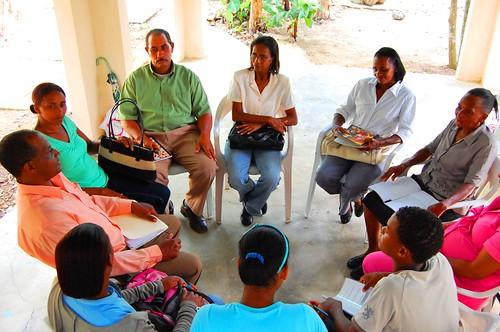 Uno de los encuentros de quienes integran el proyecto