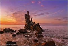 Reef Merikounda (tolis*) Tags: autumn sunset sea canon island eos tokina greece reef chios 50d mesta 1224f4  flickrdiamond  merikounda