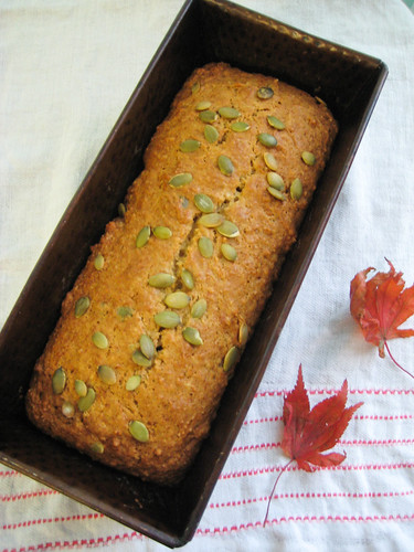 Mellow Vegan Pumpkin Spice Bread