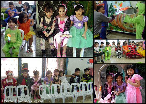 kids event halloween school party