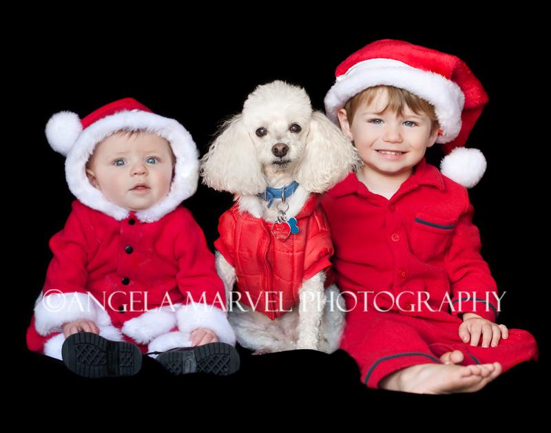 My Three Santa Boys :)