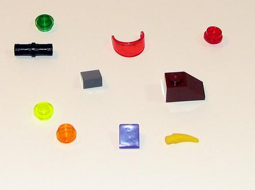 LEGO Space Police 2010 5982 Smash 'n' Grab - Spare Parts
