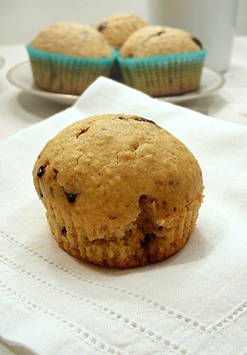 muffins alle nocciole cioccolato e caffè