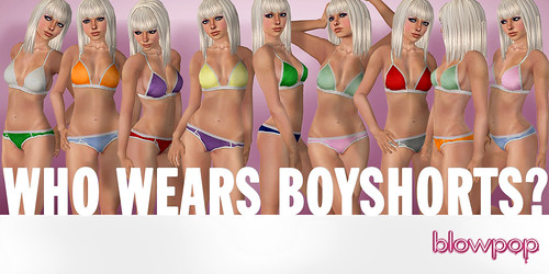 WHO WEARS BOYSHORTS?