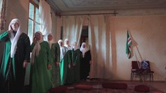 Zikr in Pankisi Valley (Swiatoslaw Wojtkowiak) Tags: georgia movie video europe muslim islam faith hijab caucasus sakartvelo chechen georgien pankisi zikr georgi  kaukaz gruzja saqartvelo   duisi   grzia