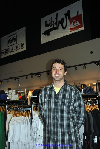 Matt Standish, Owner of Premium Label Outlet in Langley