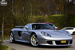 Porsche Carrera GT (Murphy Photography) Tags: road street car speed canon silver lens eos d exotic gt 50 tamron supercar carrera rar porsch