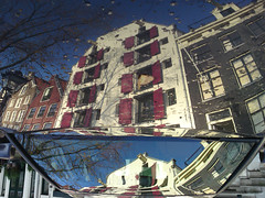 Reflections Of Amsterdam - Mobile Home (AmsterSam - The Wicked Reflectah) Tags: autumn holland reflection home netherlands car amsterdam europe wicked nophotoshop lifeisgood 2009 carpediem unedited waterreflections stadsarchief mobilephonecam amstersam reflectah amsterdamthebestcityintheworld reflectionsofamsterdam checkoutmywebsitewwwamstersamcom wickedreflections puddlepictures c905 c905sonyericssonmobilephonecam c905sonyericsson thewickedreflectah amstersmthewickedreflectah