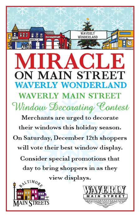 Miracle on Main Street Flyer 2009