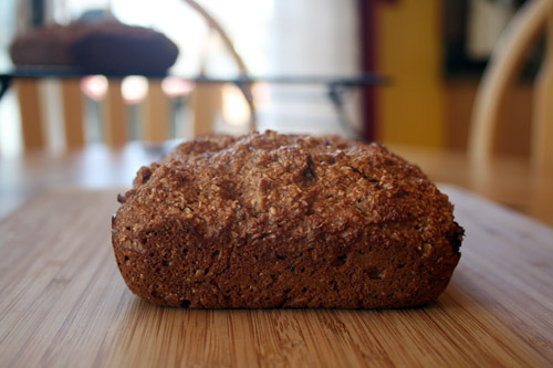 quick bran date bread