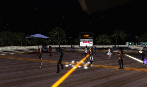 scoutlounge party in second life