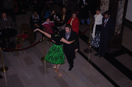 Waltz demonstration at Heinz Hall