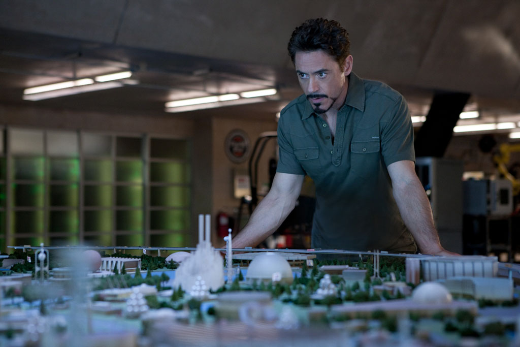 Iron Man 2 Tony Stark maqueta