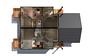 Ironwolf Duplex - Basement Render (Zensoft Studios) Tags: architecture 3d perspective paintover archviz zensoft