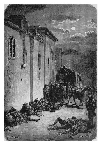 058-Una parada de postas en Jaen-Spain (1881)- Doré Gustave