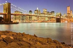 Three Minutes over Manhattan (Phijomo) Tags: newyorkcity newyork skyline brooklyn bravo manhattan brooklynbridge canon24105f4l phijomo philipjmonahan canon5dmkii