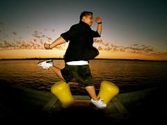 [THROWBACK] JUMP! 1 (Instant Vantage) Tags: sunset asian harbor jump sandiego olympus fisheye jordan filipino pinoy 8mmf35