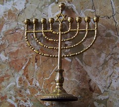 Happy Chanukah! (Renee Rendler-Kaplan) Tags: holiday december gbrearview jewish marble tonight 2009 festivaloflights gapersblock wbez menorah chicagoist jewishholiday explored reneerendlerkaplan