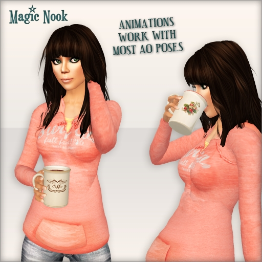 [MAGIC NOOK] Mugs - Animations