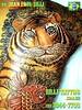 Tigre e Carpa/Tiger and Carp Tatuagens feita por