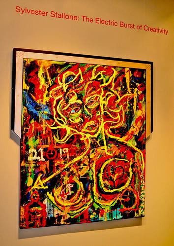 Sylvester Stallone Painting ! Gmurzynska Gallery (Miazine.com) par Hitogram