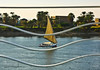 Riding The Waves.. (SonOfJordan) Tags: trip travel cruise sky colour tree water canon river boat egypt wave bank nile sail eso xsi 450d samawi sonofjordan shadisamawi wwwshadisamawicom