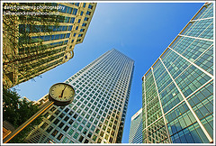 Architecture / London City 9 to 5 - Canary Wharf (david gutierrez [ www.davidgutierrez.co.uk ]) Tags: road street city trip travel blue light vacation sky urban holiday color building london art tourism glass lamp colors architecture modern composition buildings wonderful point geotagged photography photo europe cityscape colours view angle image artistic weekend gorgeous sony awesome centre capital perspective picture cities cityscapes officebuilding wideangle pic center structure architectural more foster 350 future stunning excellent metropolis bluehour unusual lovely alpha fabulous avenue dt municipality edifice f4556 1118mm flickrsbest saariysqualitypictures sonyalphadt1118mmf4556 london9to5 sony350dslra350